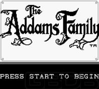 The Game Boy Database - Addams Family, The
