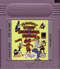 The Game Boy Database - Adventures of Rocky and Bullwinkle and Friends, The