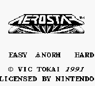 The Game Boy Database - Aerostar