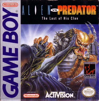 The Game Boy Database - Alien vs Predator