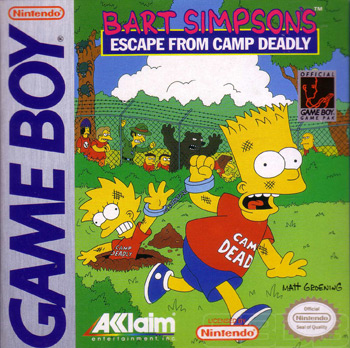 The Game Boy Database - Bart Simpson's Escape from Camp Deadly