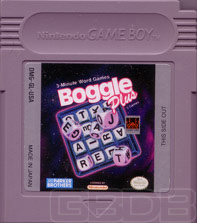 The Game Boy Database - Boggle Plus