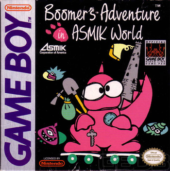 The Game Boy Database - Boomer's Adventures in ASMIK World