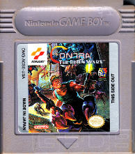 The Game Boy Database - Contra: The Alien Wars