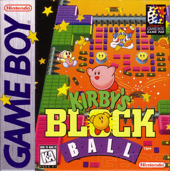 The Game Boy Database - Kirby's Block Ball