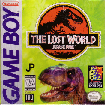 The Game Boy Database - Lost World, The: Jurassic Park