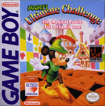 The Game Boy Database - Mickey's Ultimate Challenge