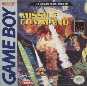The Game Boy Database - Missile Command