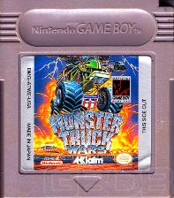 The Game Boy Database - Monster Truck Wars