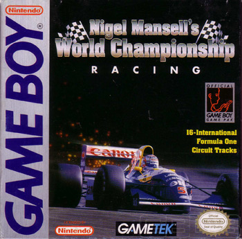 The Game Boy Database - Nigel Masell's World Championship Racing