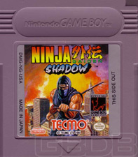 The Game Boy Database - Ninja Gaiden: Shadow