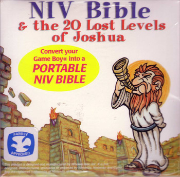 The Game Boy Database - NIV Bible & the 20 Lost Levels of Joshua