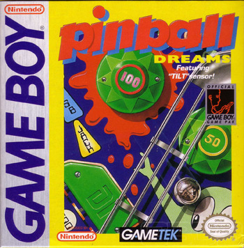 The Game Boy Database - Pinball Dreams