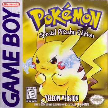 The Game Boy Database - Pokémon: Yellow Version: Special Pikachu Edition