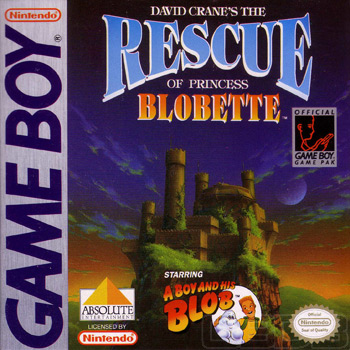 The Game Boy Database - Rescue of Princess Blobette, David Crane's The