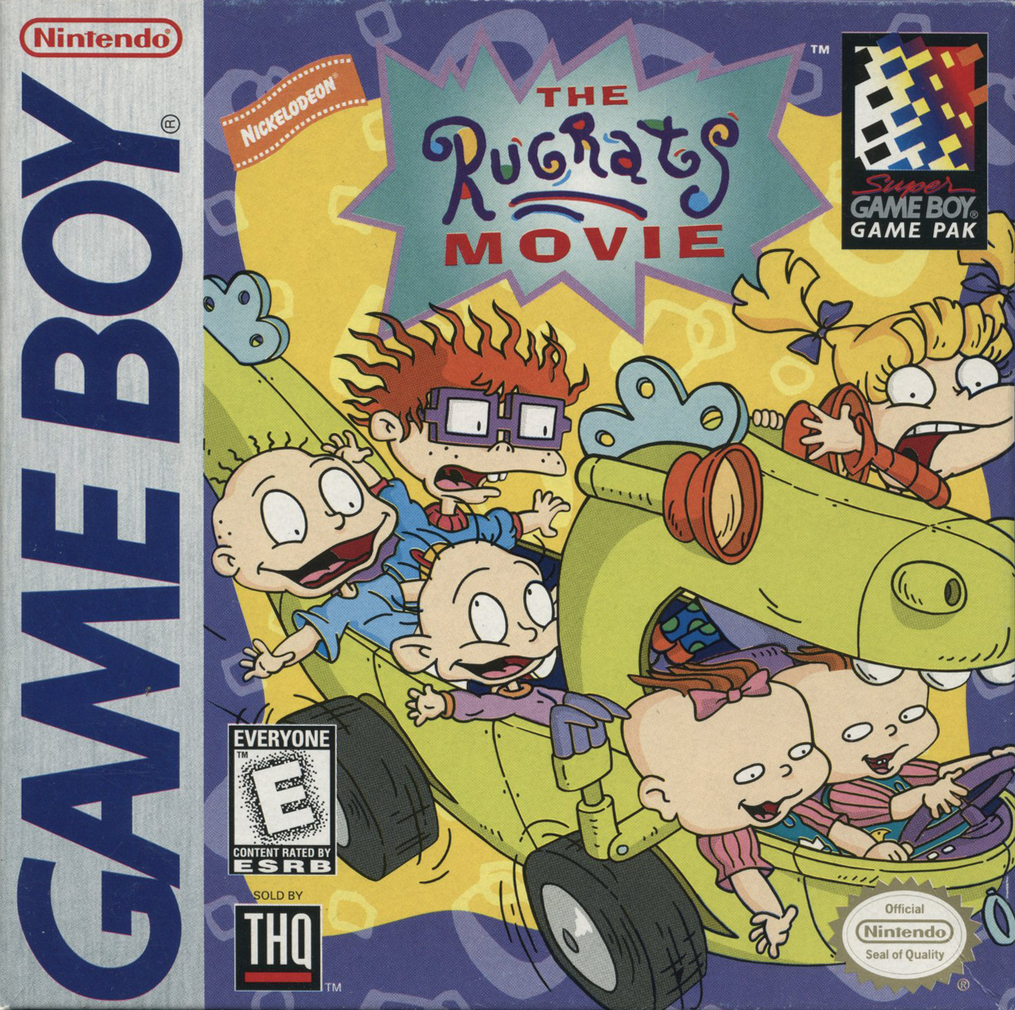 The Game Boy Database - Rugrats: The Movie