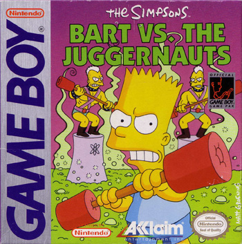 The Game Boy Database - Simpsons, The: Bart vs The Juggernauts