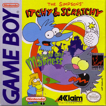 The Game Boy Database - Simpsons, The: Itchy & Scratchy Miniature Golf Madness