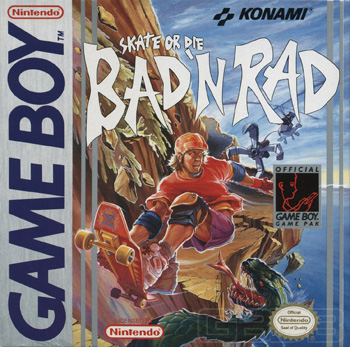 The Game Boy Database - Skate or Die: Bad & Rad
