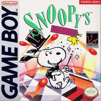 The Game Boy Database - Snoopy's Magic Show