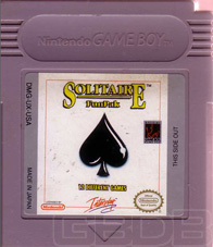 The Game Boy Database - Solitaire Fun Pak
