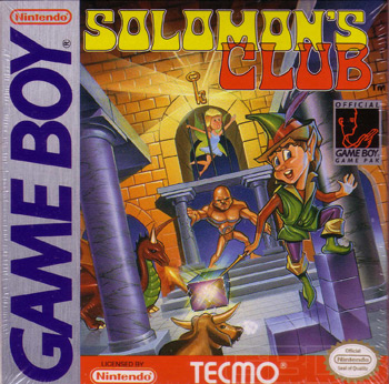 The Game Boy Database - Solomon's Club