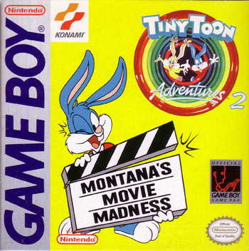 The Game Boy Database - Tiny Toon Adventures 2: Montana's Movie Madness