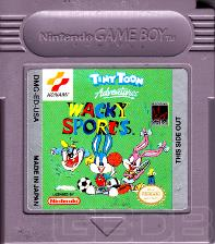 The Game Boy Database - Tiny Toon Adventures: Wacky Sports Challenge