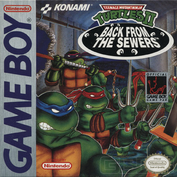 The Game Boy Database - Teenage Mutant Ninja Turtles II: Back From The Sewers
