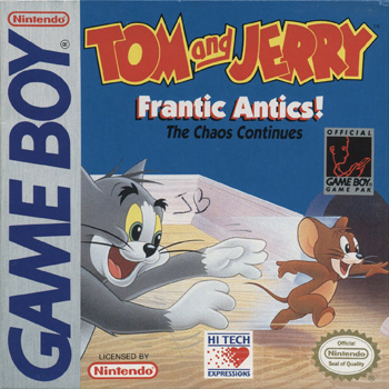 The Game Boy Database - Tom and Jerry: Frantic Antics!