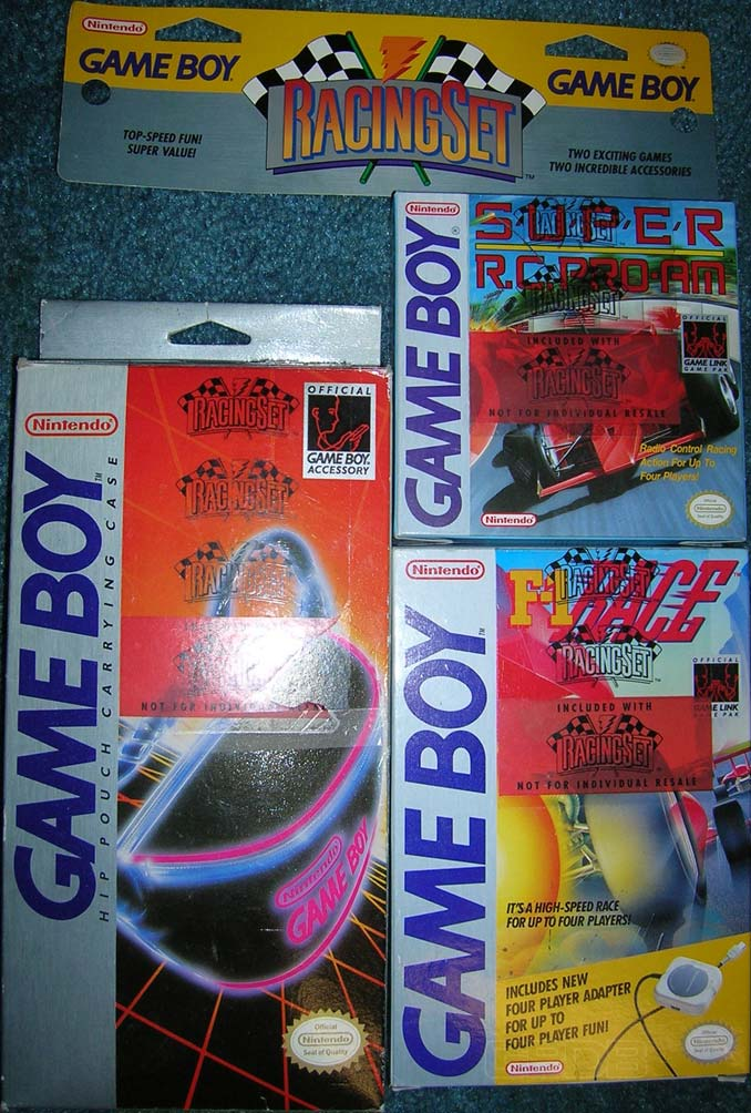 The Game Boy Database - Game Boy Racing Set